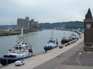 le stockage au port de Rouen