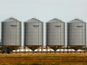 stockage de céréales